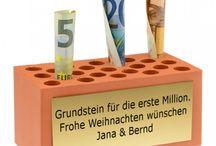 Penger i gave