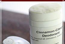 homemade deodorant stik