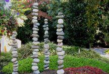 Stele aus stein