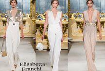 Elisabetta Franchi / Elisabetta Franchi collezione e catalogo primavera estate e autunno inverno abiti abbigliamento accessori scarpe borse sfilata donna.