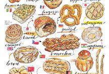 รูปวาดอาหารสวยๆ