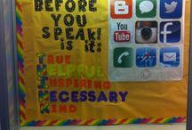 Bulletin Board Ideas / by Amber Bradshaw