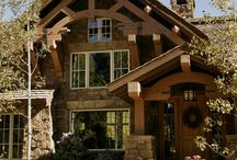 House-Rustic/Cabin/Craftsman / by • mandy •