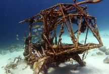 underwater wrecks / Wrecks of Curacao