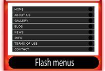 Flash menus / Flash menus-navigation