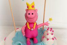 Peppa Pig Princess Chic!! ♥ / La nostra Mila, compie 4 anni, ama Peppa Pig, ed e' una principessina!!! Ecco qua la nostra versione della super Peppa Nazionale!!! Niente di piu' elegante!!! Anche #Peppa #Pig #Princess diventa Tres Chic!!!!