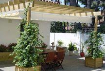 Pérgola Residencia Castelldefels
