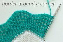 Knitting borders