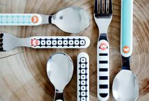 Meet and eat / If you want to make it more fun during dinner, why not use the playful dinner set from our new collection.