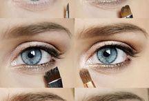 Eye make up / Natural, smoky, grand, classic, gothic ...