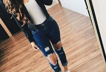 Outfit tenis negros