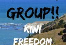 KIWI FREEDOM ONLINE / Helping Kiwis to grow their online businesses and create the freedom and a life they love!