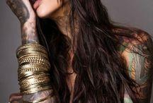 sexy girls tattoos / dziewczyny z tatuazami