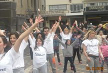 Flash mob Monastiraki / Hobo illusionerz ON ACTION!!!!