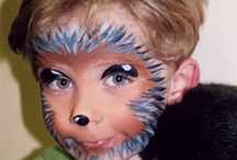 hedgehog facepainting
