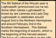 Lughnasadh / Lammas - Spells and Magic