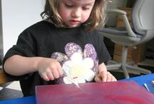 Printmaking for children
