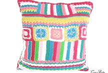 My crochet pillows on Etsy / My crochet works on Etsy