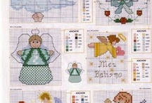 Counted Cross Stitch Angels / by Janet Hill