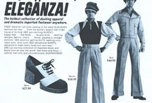 The fashion of the 70's