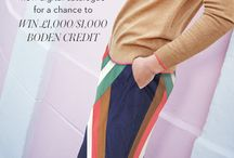 Boden's Make a Wishlist Competition