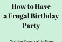 Intentional Frugal Living