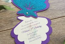 Mohana Theme Invitations