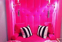 Luxury & Beauty fuchsia pink
