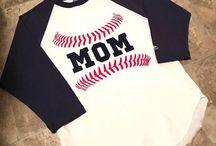 Baseball Mom / Baseball mom inspired shirts