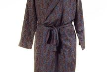 Smoking Dressing Gowns / A collection of men's smoking gowns & dressing gowns offered for sale at Tweedmans Vintage.