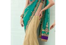 Mega MONSOON SALE / This Monsoon, get ready to splash yourself in season's trendy collection of ethnic wear comprising sarees, lehengas & suits @ FLAT 50% off on selected collection. Choose your favorite now, from http://www.mishreesaree.com/Online/Discount-Sale