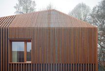 Wooden roof modern