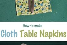 Table war sewing