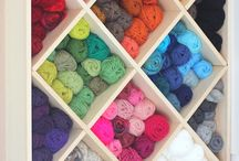 Craft Room Storage / by Knitter's Pride