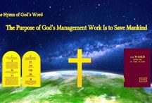 """The Hymn of God's Word """"The Purpose of God's Management Work Is to Save Mankind""""   Eastern Lightning"""