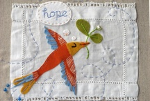 Fabric art / All about fabric