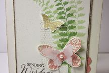 Butterfly Cards / Cards using Stampin' Up butterfly punches and stamps sets
