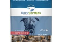 """Barkworthies Products / Barkworthies.com -- 100% all-natural dog treats and chews are """"Naturally Worth Barking For!"""" So take advantage of our great deals for training, spoiling or anytime treating!"""