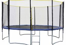Les trampolines 490 cm Happy Garden