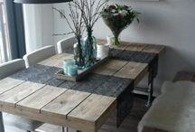 mesas quincho