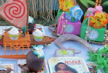 Disney Moana Birthday Party / Sail the see and check out Laura's Little Party's Moana birthday party she styled using Shindigz products! Explore our party ideas blog for more fun party ideas!