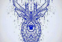 Cervo Tattoos