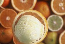 """Citrus fruit Sorbet! / Citrus fruit (Lemon, Orange, Mandarin Orange) Sorbet from our """"Authentic Sorbets"""" range!  #kayak_icecream #icecream"""