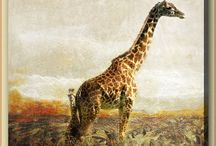 Животный мир классик - картины / Картины жанра Животный мир (животные) Красивая живопись художников
