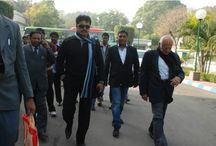 Sarath Kumar in Delhi / Sarath Kumar in Delhi to press for service tax exemption