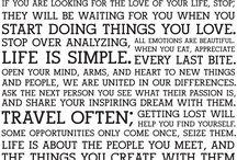 Inspiration + Words