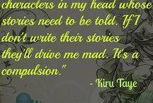 Writing / by Kiru Taye