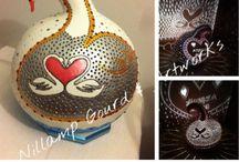 Nillamp Gourd / Birds  - kuslar