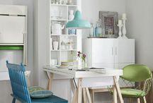 Kleine Wohnung / Nette Küche auf kleinstem Raum und mehr Ideen für kleine Wohnungen