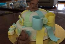 Pastel baby shower o cumpleaños